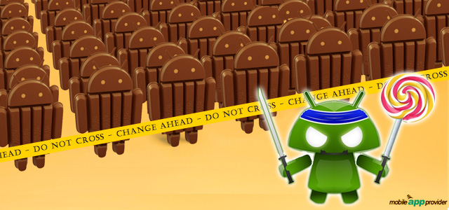Android 5.0 Lollipop VS Android 4.4 Kitkat